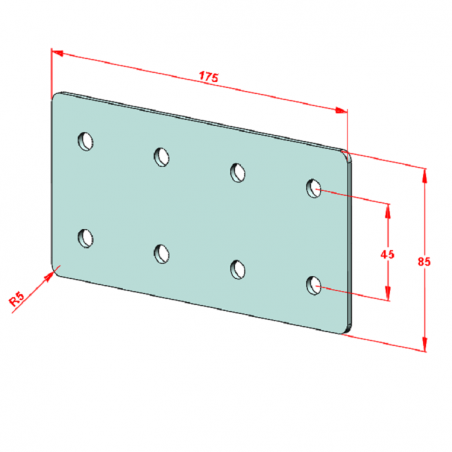 SAC 12-1000 İndiksiyonlu Krom Mil+Destek Profili Seti-2