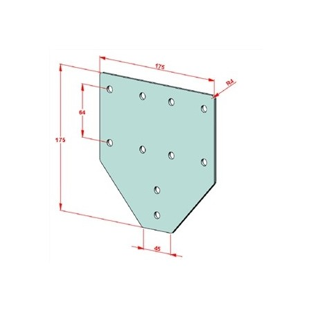 SAC 16-1000 İndiksiyonlu Krom Mil+Destek Profili Seti