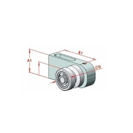 SAC 16-1000 İndiksiyonlu Krom Mil+Destek Profili Seti-2
