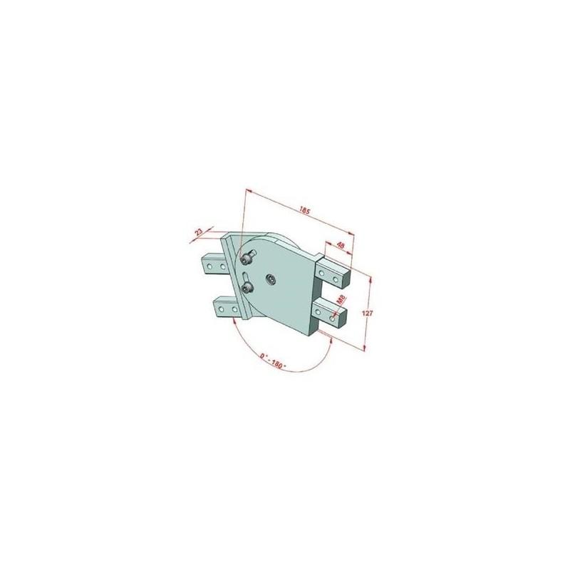 SAC 25-1000 İndiksiyonlu Krom Mil+Destek Profili Seti