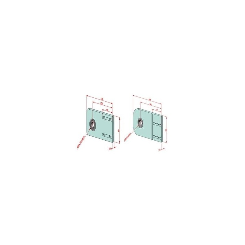 SAC 40-1000 İndiksiyonlu Krom Mil+Destek Profili Seti
