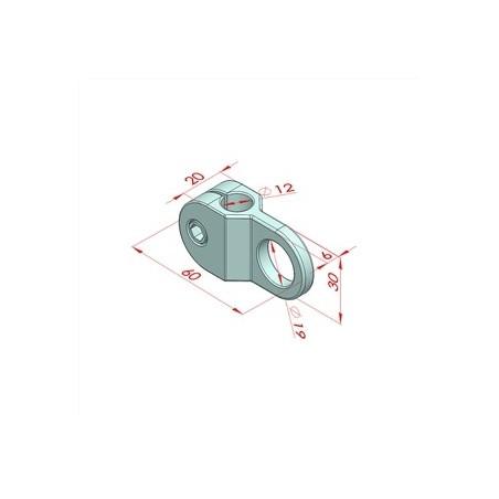 PM 25C, Tam Kapalı Kafesli Tip Teflon Rulman, Standart Seri