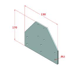 30x45 Dereceli, K8, Sigma Profil-2