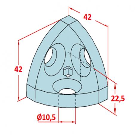40x80 K8 Gri Profil Kapağı-2