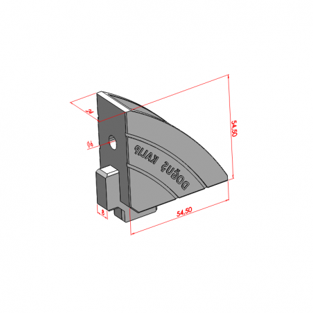 40x80, Uzun Köşe Bağlantı Kapağı-2