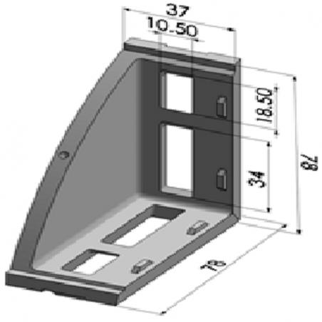 45x45 Radiuslu Profil Kapağı-2