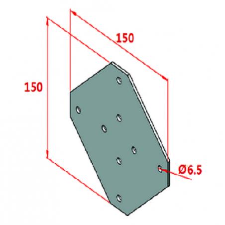 40x40, K8, 45 Derece Sigma Profil-2