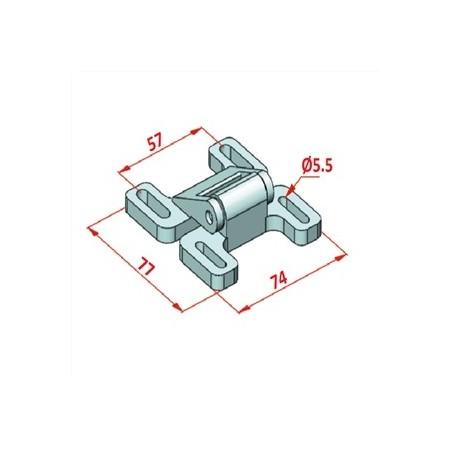 25x150 Modüler Konveyör Plakası