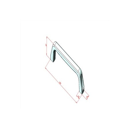 45x45 Minyatür Konveyör Mafsal Plakası