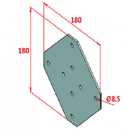 40x40, K8, Hafif Tip Sigma Profil-2