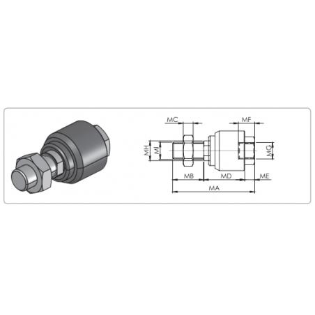 MR020R-3600, Minyatür Lineer Ray-2