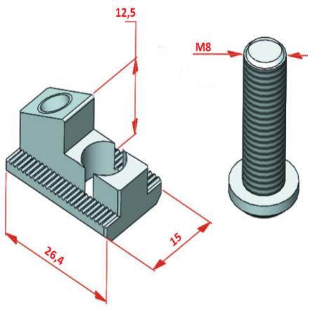 45x135, K10, Sigma Profil-2