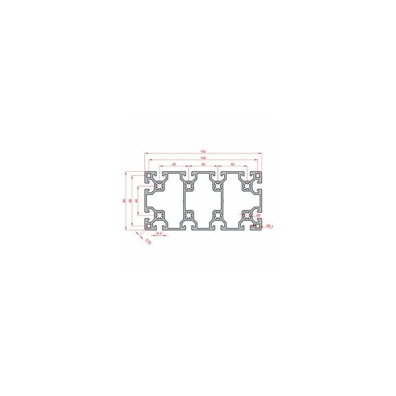 45x45, K10, Ağır Tip Sigma Profil