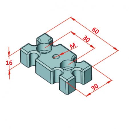 45x45, K10, Hafif Tip Sigma Profil