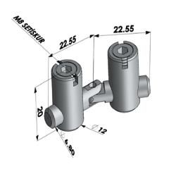 35x35, K10, Ağır Tip Sigma Profil-2