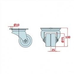 80x80, K200, Bağlantı Sacı İki Yönlü-2