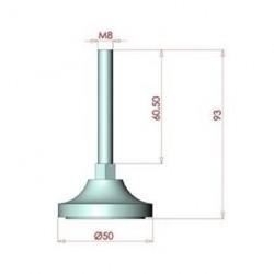 45x45, K10, Bağlantı Sacı Üç Yönlü-2