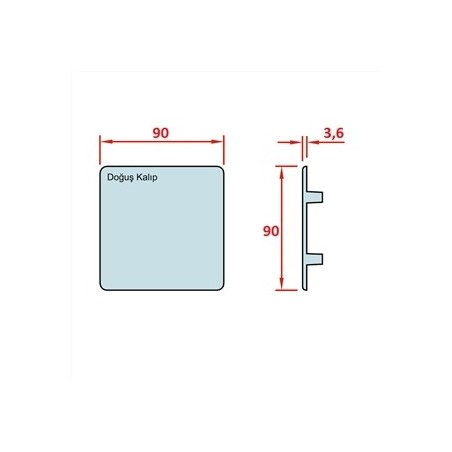 D30 Minyatür Gergi Tamburu, Bant Genişliği: 85