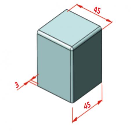 D45 Minyatür Gergi Tamburu, Bant Genişliği: 85-2