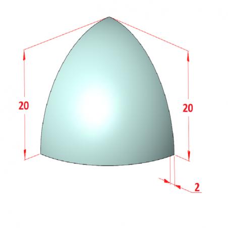 D45 Minyatür Tahrik Tamburu, Bant Genişliği: 130-2