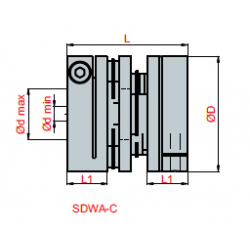 200 mm D6, DRV06-200
